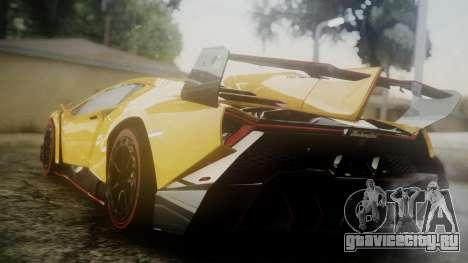 Lamborghini Veneno 2012 для GTA San Andreas вид слева