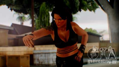 WWE Lita для GTA San Andreas