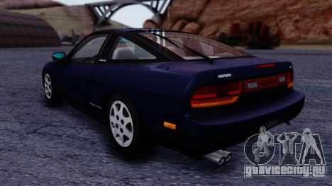 Nissan 240SX SE 1994 Stock для GTA San Andreas вид сзади слева