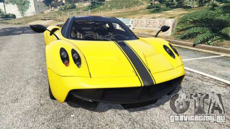 Pagani Huayra 2013 v1.1 [yellow rims] для GTA 5