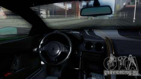 Lamborghini Murcielago LP670-4 SV 2010 для GTA San Andreas вид изнутри
