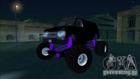 GTA 5 Vapid Speedo Monster Truck для GTA San Andreas вид сбоку