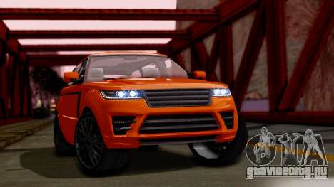 GTA 5 Gallivanter Baller LWB для GTA San Andreas
