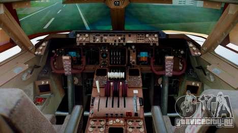 Boeing 747-400 Prototype (N401PW) для GTA San Andreas вид сзади