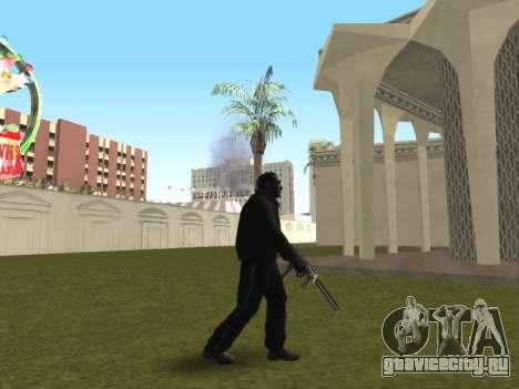 Пар изо рта у CJ и у прохожих для GTA San Andreas второй скриншот
