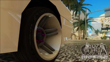 Elegy HellCat для GTA San Andreas вид сверху