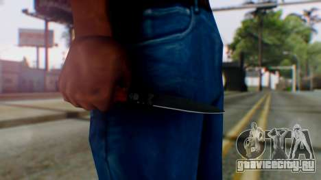GTA 5 Bodyguard Switchblade для GTA San Andreas третий скриншот