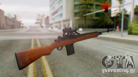 Arma2 M14 Sniper для GTA San Andreas второй скриншот
