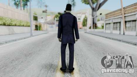GMAN v2 from Half Life для GTA San Andreas третий скриншот