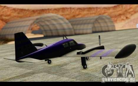 GTA 5 Western Company Cuban 800 для GTA San Andreas вид справа
