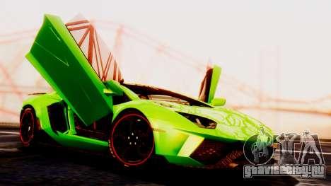 Lamborghini Aventador Mansory для GTA San Andreas