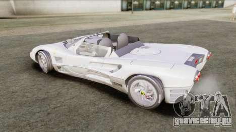 Ferrari P7 Yrid для GTA San Andreas вид сзади слева