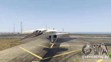 XB-70 Valkyrie для GTA 5 второй скриншот