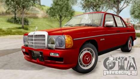 Mercedes-Benz 230E AMG 3.2 1982 Evolution Mod для GTA San Andreas