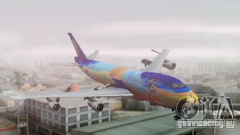 Boeing 747-400 Singapore Airlines Tropical PJ для GTA San Andreas