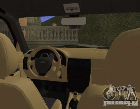 ВАЗ 2110 KBR для GTA San Andreas вид сзади