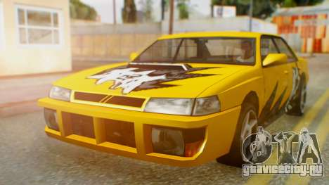 Sultan Винил из Need For Speed ProStreet для GTA San Andreas