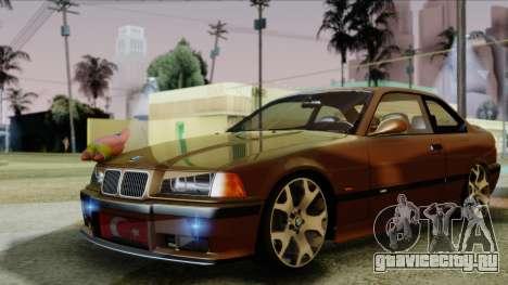 BMW M3 E36 SüvariGaragee для GTA San Andreas вид сзади слева