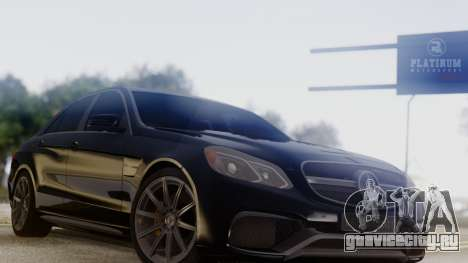 Mercedes-Benz E63 AMG PML Edition для GTA San Andreas вид справа