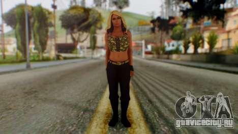 WWE Kaitlyn для GTA San Andreas второй скриншот