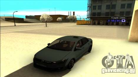 Volkswagen Polo для GTA San Andreas вид сбоку