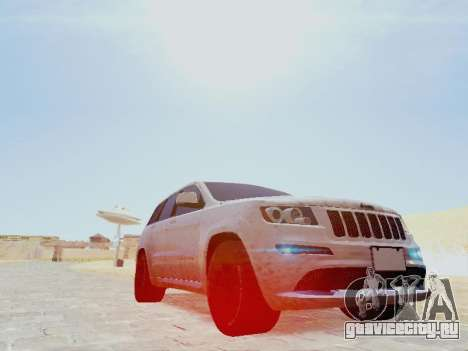 Jeep Grand Cherokee SRT8 2013 Tuning для GTA San Andreas