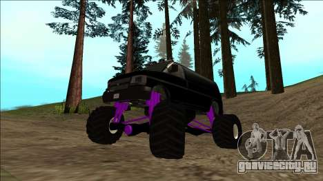 GTA 5 Vapid Speedo Monster Truck для GTA San Andreas вид снизу