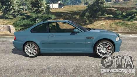 BMW M3 (E46) 2005 для GTA 5 вид слева