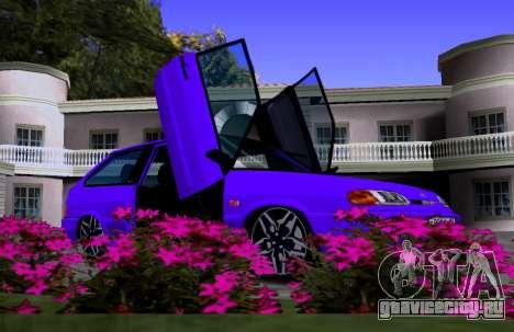 VAZ 2113 KBR для GTA San Andreas вид изнутри