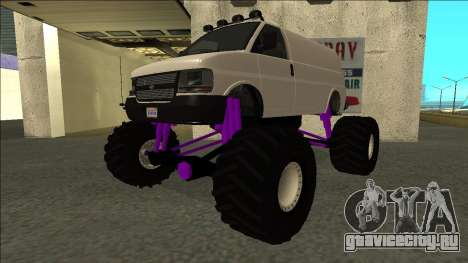 GTA 5 Vapid Speedo Monster Truck для GTA San Andreas