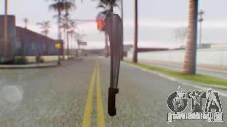 Vice City Machete для GTA San Andreas