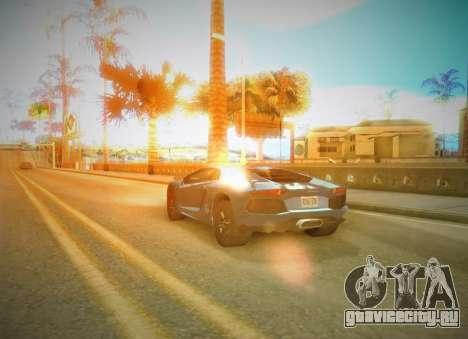 SA SuperPro ENB v1 для GTA San Andreas второй скриншот