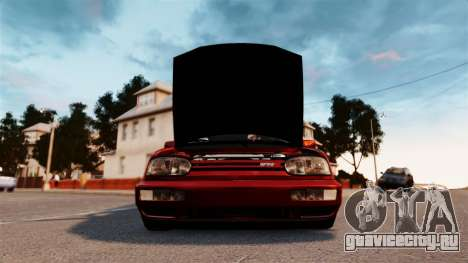Volkswagen Golf VR6 1998 DTD Tuned для GTA 4 вид справа