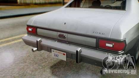 Ford Gran Torino 1974 IVF для GTA San Andreas вид сверху