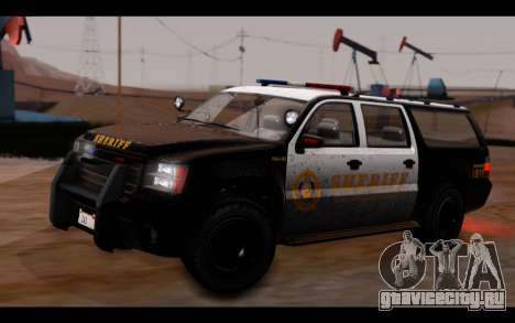 GTA 5 Declasse Sheriff Granger IVF для GTA San Andreas