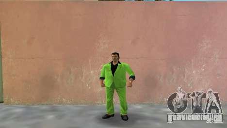 Зелёный костюм для Томми для GTA Vice City
