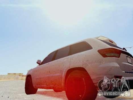 Jeep Grand Cherokee SRT8 2013 Tuning для GTA San Andreas вид слева