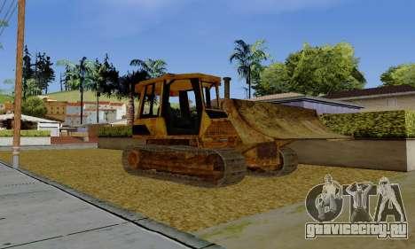 New Dozer для GTA San Andreas вид слева