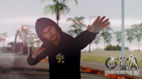 CM Punk 1 для GTA San Andreas