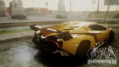 Lamborghini Veneno 2012 для GTA San Andreas вид справа
