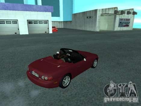 Mazda MX-5 для GTA San Andreas вид слева