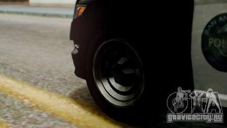 GTA 5 Police LS для GTA San Andreas вид сзади слева