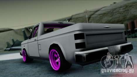 Bobcat Drift для GTA San Andreas вид слева