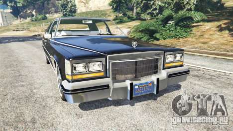 Cadillac Fleetwood Brougham 1985 для GTA 5