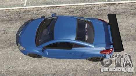 Peugeot RCZ для GTA 5 вид сзади