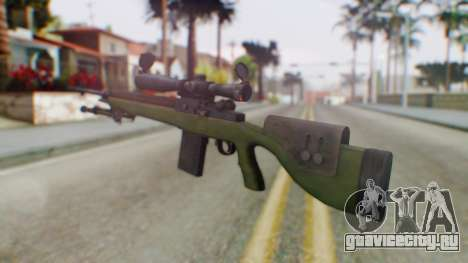 ARMA2 M14 Dmr Sniper для GTA San Andreas второй скриншот