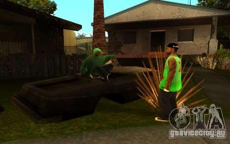 Оживление улицы Гантон для GTA San Andreas пятый скриншот