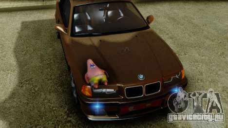 BMW M3 E36 SüvariGaragee для GTA San Andreas вид справа