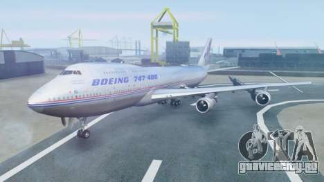 Boeing 747-400 Prototype (N401PW) для GTA San Andreas