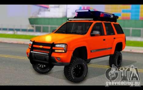 Chevrolet Traiblazer Off-Road для GTA San Andreas